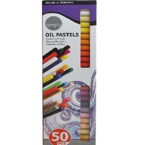 Daler Rowney Simply Oil Pastel 50 Colours