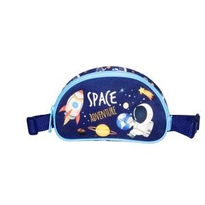 MUST KIDS PENCIL CASE AND WAIST BAG SPACE ADVENTURE, 20X11X3,5 CM