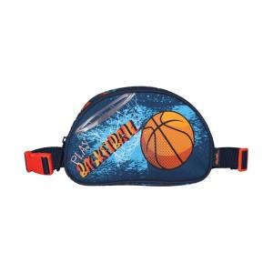 MUST KIDS PENCIL CASE AND WAIST BAG BASKETBALL, 20X11X3,5 CM