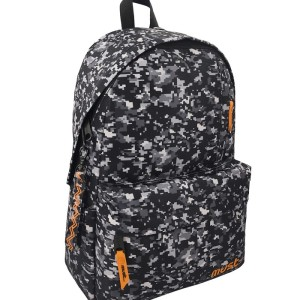 MUST BACKPACK MONOCHROME RPET ARMY BLACK-WHITE 4 CASES