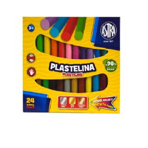 ASTRA Plasticine 24 colors