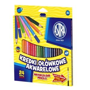 ASTRA Watercolor pencils 24 colors
