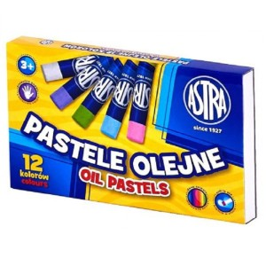 ASTRA  Oil pastels 12 colors