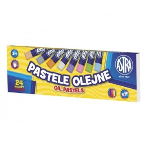 ASTRA  Oil pastels 24 colors