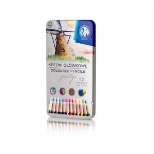 ASTRA Colored pencils PRESTIGE 12 colors