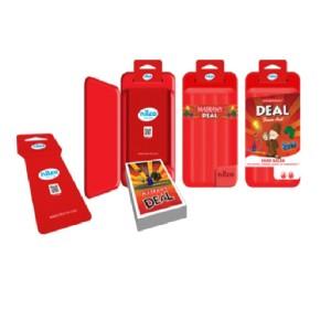 Nilco Monopoly Deal Masrawy Card Game Plastic Box