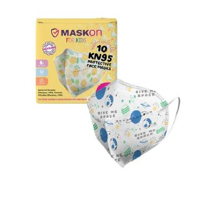 MaskOn Kids: KN95 KIDS - GIVE ME SPACE - 10 Pack