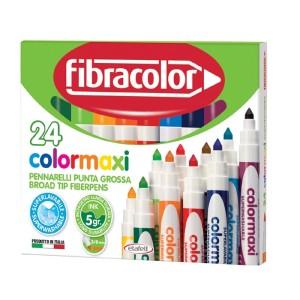 ETAFELT Fibracolor Colormaxi Fiber Pen 24 set