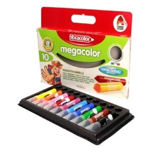 ETAFELT Fibracolor Megacolor Maxi tip marker Set of 10