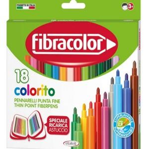 ETAFELT Fine Point Super washable Markers 18 Pcs Fibracolor
