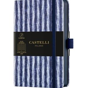 Castelli Milano SHIBORI Twill Notebook Rigid cover
