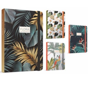 Gipta Flora Notes Lined Hard cover Notebook