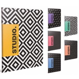 Gipta Studio Lined Carton cover Notebook