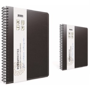 Gipta Sunday Note Lined Hard/Leather cover Notebook