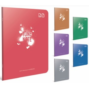 Gipta Tone-Note Lined PP cover Notebook