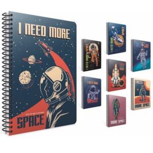 Gipta Space Lined Carton cover Notebook