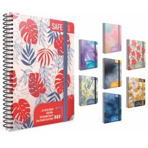 Gipta Safe Notes Lined Hard cover Notebook