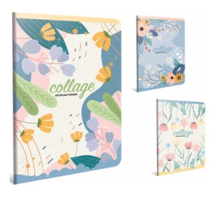 Gipta Collage Lined PP cover Notebook