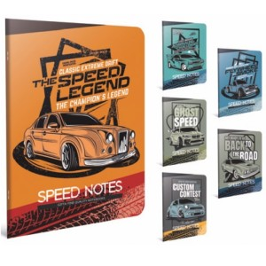 Gipta Speed Notes Lined PP cover Notebook