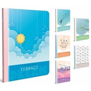 Gipta Terrace Lined PP cover Notebook