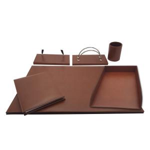 Orna Desk set 6pcs. leather
