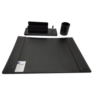 Orna Desk set 4pcs. leather