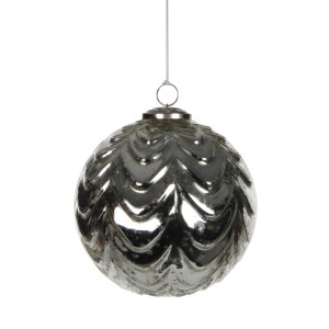 Christmas Ornament Ball D15 Silver