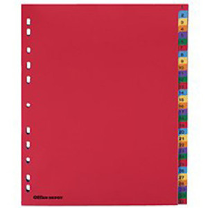 A-Z Paper Dividers