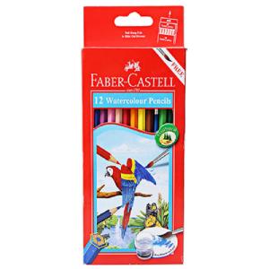 Faber-Castell 12 Watercolor Pencils