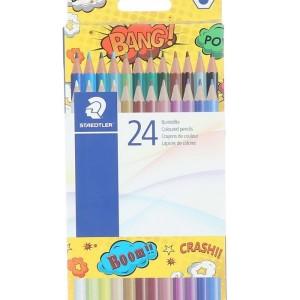 STaEDTLER Hexagonal Coloring Pencils - 24 Pieces