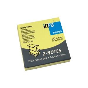 INFO Z-Notes 75 X 75 MM