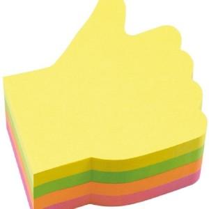 INFO Handy Shape Sticky Notes