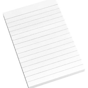 INFO Lined Sticky Notes 100 X 150 MM