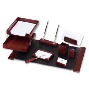 Wooden Desk Set 9 PCS
