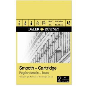Daler Rowney SMOOTH CARTRIDGE PAD 130G 30SH
