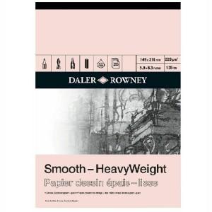 Daler Rowney Smooth Heavyweight 220gsm Cartridge Pad