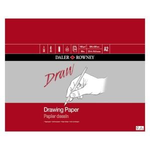 Daler Rowney Medium Grain Drawing Pads A2