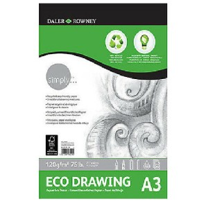 Daler Rowney Simply Eco Drawing Pad -A3