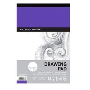 Daler Rowney Simply Drawing Pad 50 sheet 120gsm