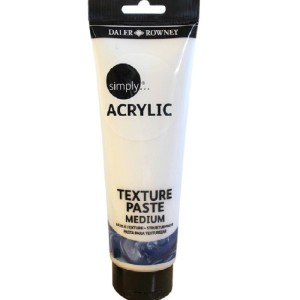 Daler Rowney Daler-Rowney Simply Medium Texture Paste Tube, 250 ml,