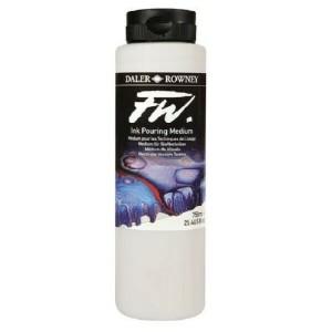 Daler-Rowney FW Artists Acrylic Ink 750ml Pouring Medium