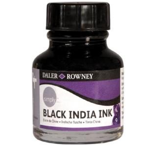 Daler Rowney Black India Ink