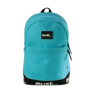 MUST Trendy Backpack-Aqua Blue