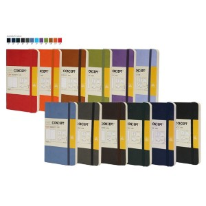 PAPER CONCEPT Executive Notebook Soft cover