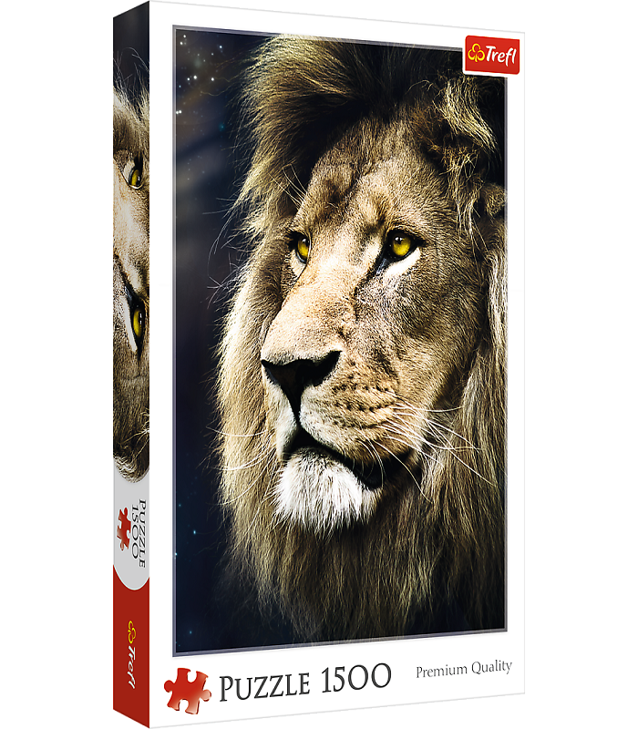 Trefl Lion's Portrait Puzzles – 1500 Pieces