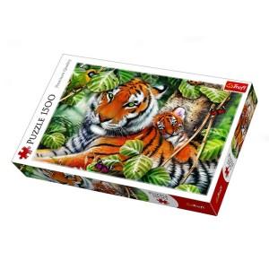 Trefl Two Tigers 1500 Piece Jigsaw Puzzle