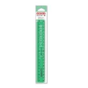 Arda Keepcolor finger grip  Ruler 20 cm