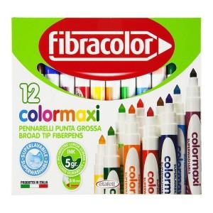 ETAFELT Fibracolor Colormaxi Fiber Pen 12 set