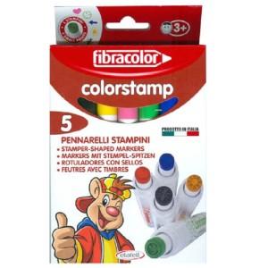 ETAFELT Fibracolor Colorstamp Pens Pk5