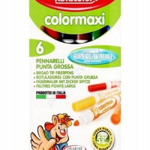 ETAFELT Fibracolor Colormaxi Fiber Pen 6 set